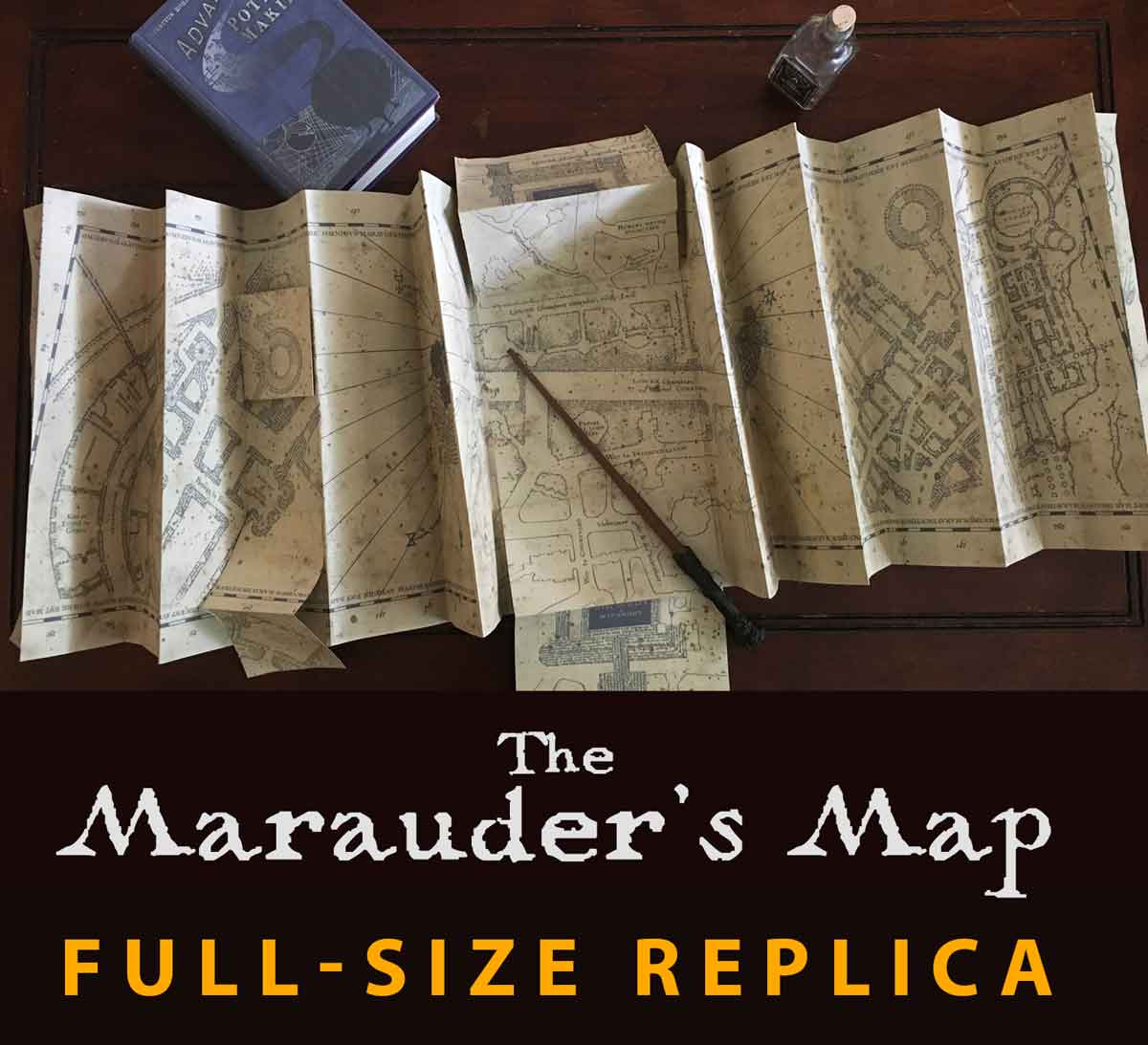 Picture of Marauder's Map FULL SIZE Replica