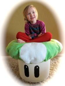 Easy Pillow Top Chair or Ottoman: Supplies