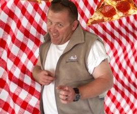 Grillin Pizza
