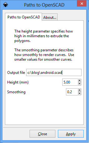 Picture of Choose the Height and Smoothing