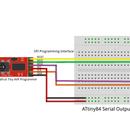 ATtiny84/85 Transmit Only Serial Output