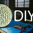 DIY LED Video Panel || Dimmable and Color Temperature adjust