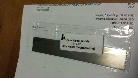 Nickel Plating Part 1: Electrolyte