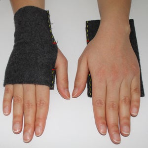 Sew Your Scarf and Fingerless Gloves