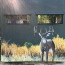 Custom Mural on Deerstand