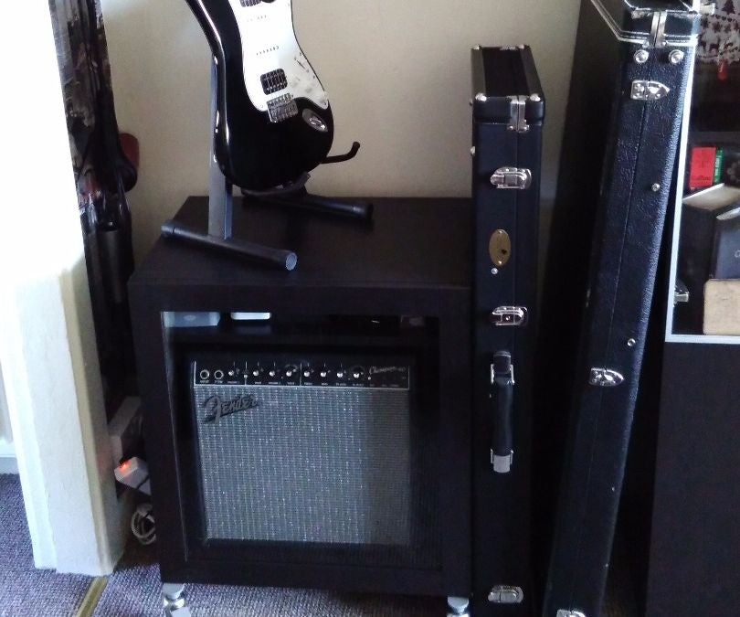 Guitar Amp And Accessories Storage Ikea Hack 4 Steps