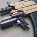 Nerf Grenade Launcher Attachment DIY