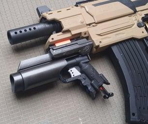 Nerf Grenade Launcher Attachment DIY