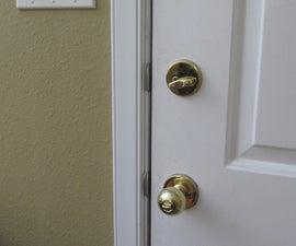 Hardening a Door Frame