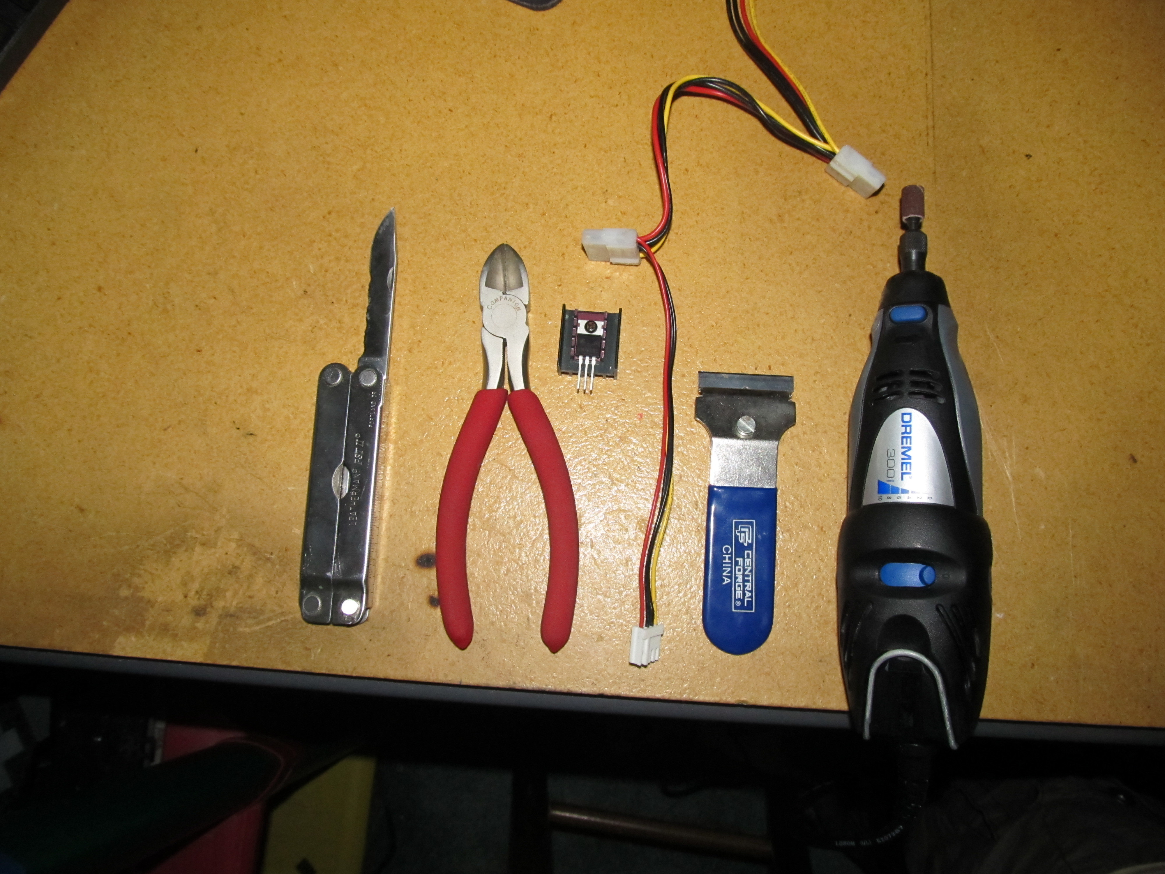 Picture of Parts and Tools