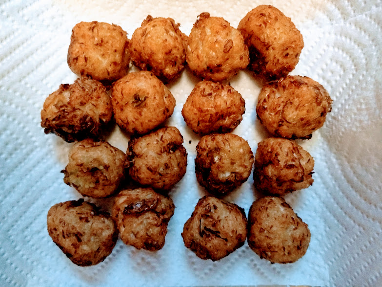Picture of Deep Fry Manchurian Balls