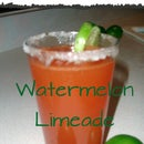 Watermelon Limeade with Chervil Infusion