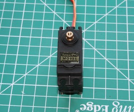 Convert Towerpro MG995 servo to continuous rotation
