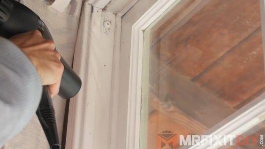 Install Plastic Window Insulation