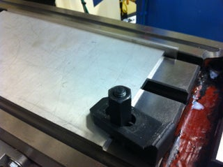 T-slot Stop for Vertical Mill Table
