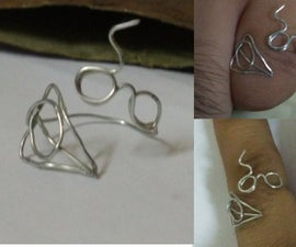 DIY Harry Potter Deathly Hallows Ring