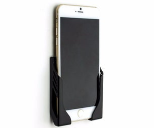 Simple Smartphone Wall Stand