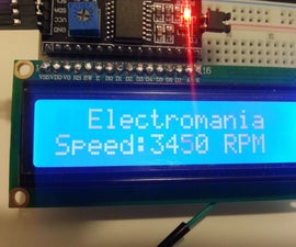 Fan RPM with internal hall effect sensor and Arduino (Intro to Hardware Interrupt and LCD display)