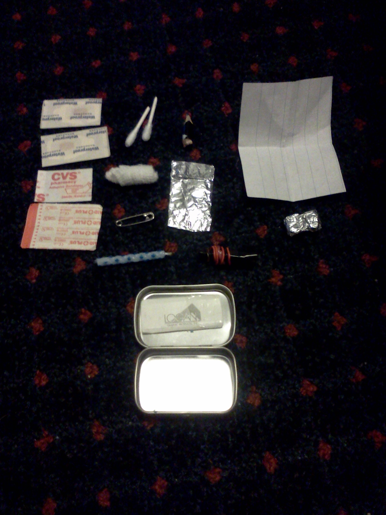 Picture of Small Altoids Survival Kit