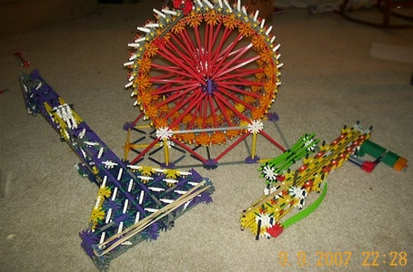 all my moded knex guns