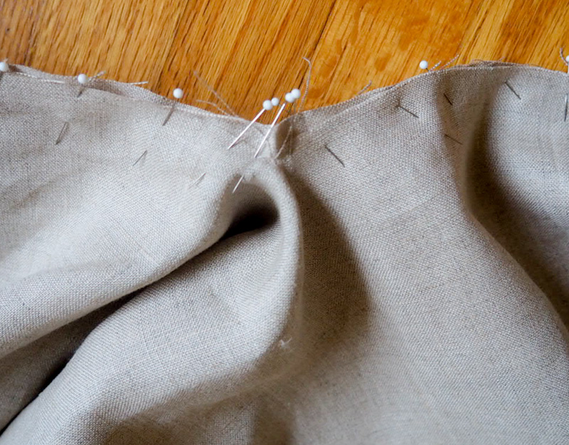 Picture of Sewing on Hood/Collar