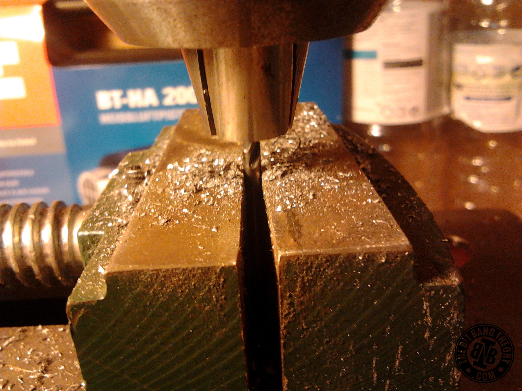 Picture of Extending the Axle