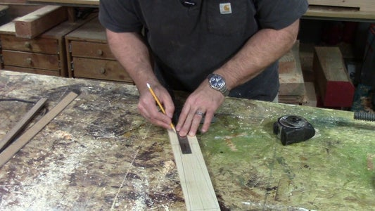 Layout Your Wooden Sword.