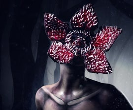 Stranger Things Demogorgon Halloween Makeup Tutorial