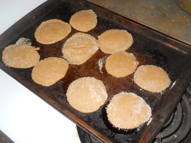 Picture of Preparing  the Cookies