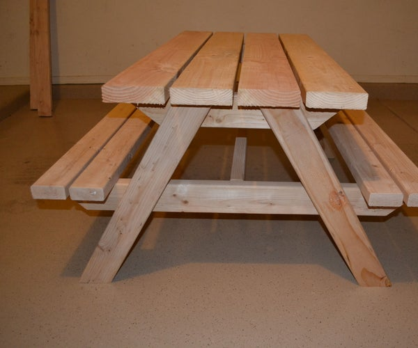 Kids Picnic Table (I Made It at Techshop)