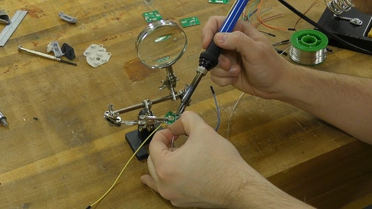 Cutting the Circuit Boards