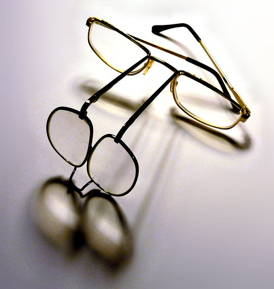 Picture of Closeup Magnifying Glasses