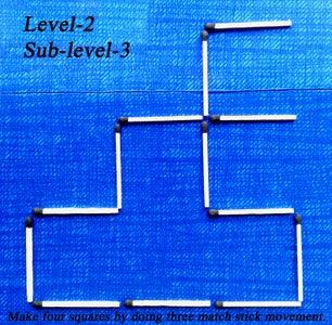 LEVEL  '2',   Sub-level  '3'