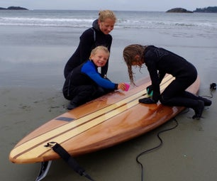 How to Build a Wood Paddle Board