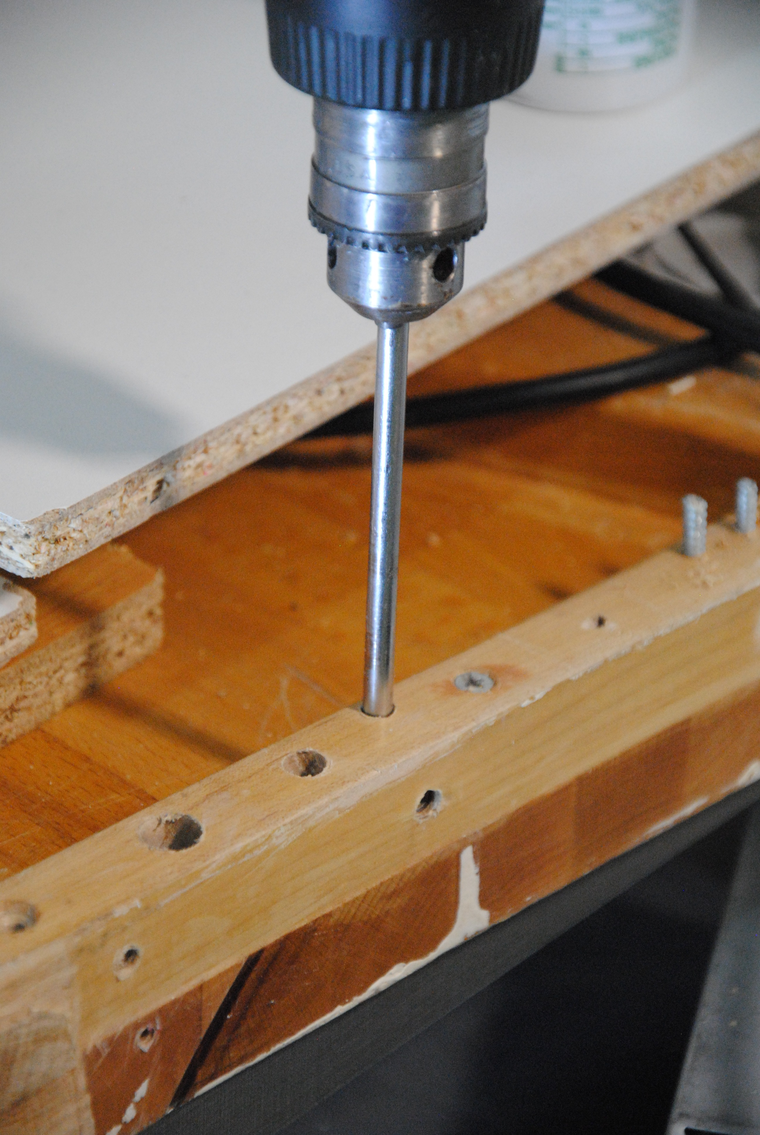 Picture of Drill Storage - a Hole in My Workbench!