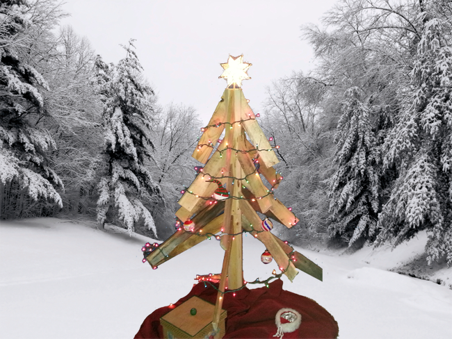 Picture of Turn Old Wood Pallets Into a Beautiful Christmas Tree