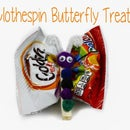 Clothespin Butterfly Treats