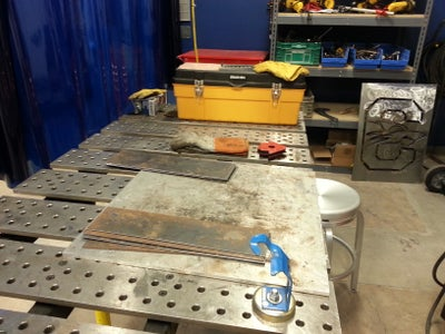 Cutting & Preparation for Welding