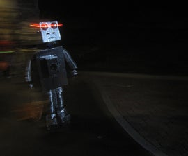 Voice Changing Robot Costume w/ animated mouth