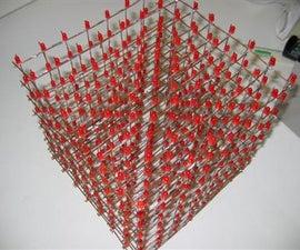 Led cube 8*8*8 LED