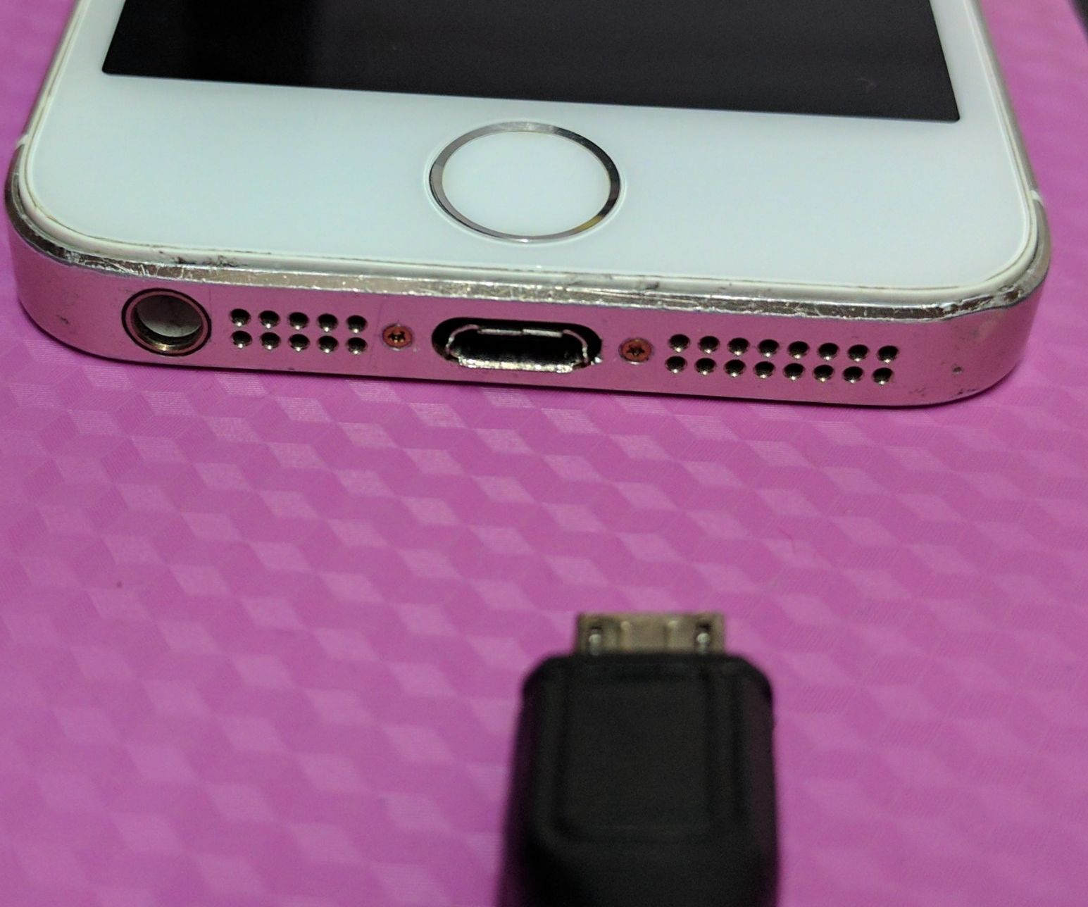 Bypass Iphone 5S Charging Circuit, Directly Charge Battery