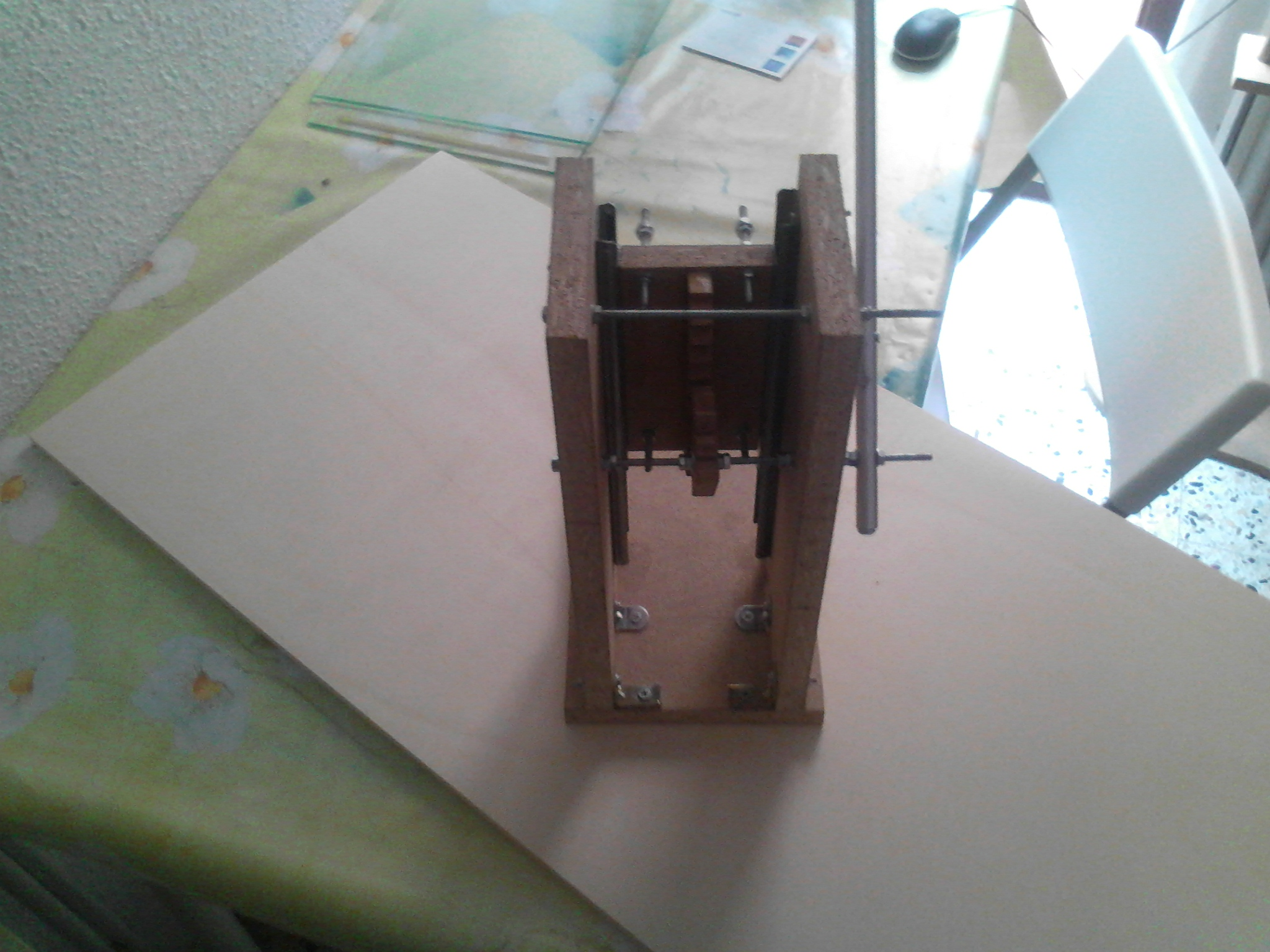 Picture of Mini Drill Press With Dc Motor
