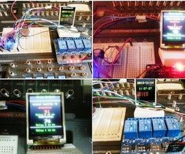 Mini Arduino Multi Function Controller w/ LCD Display