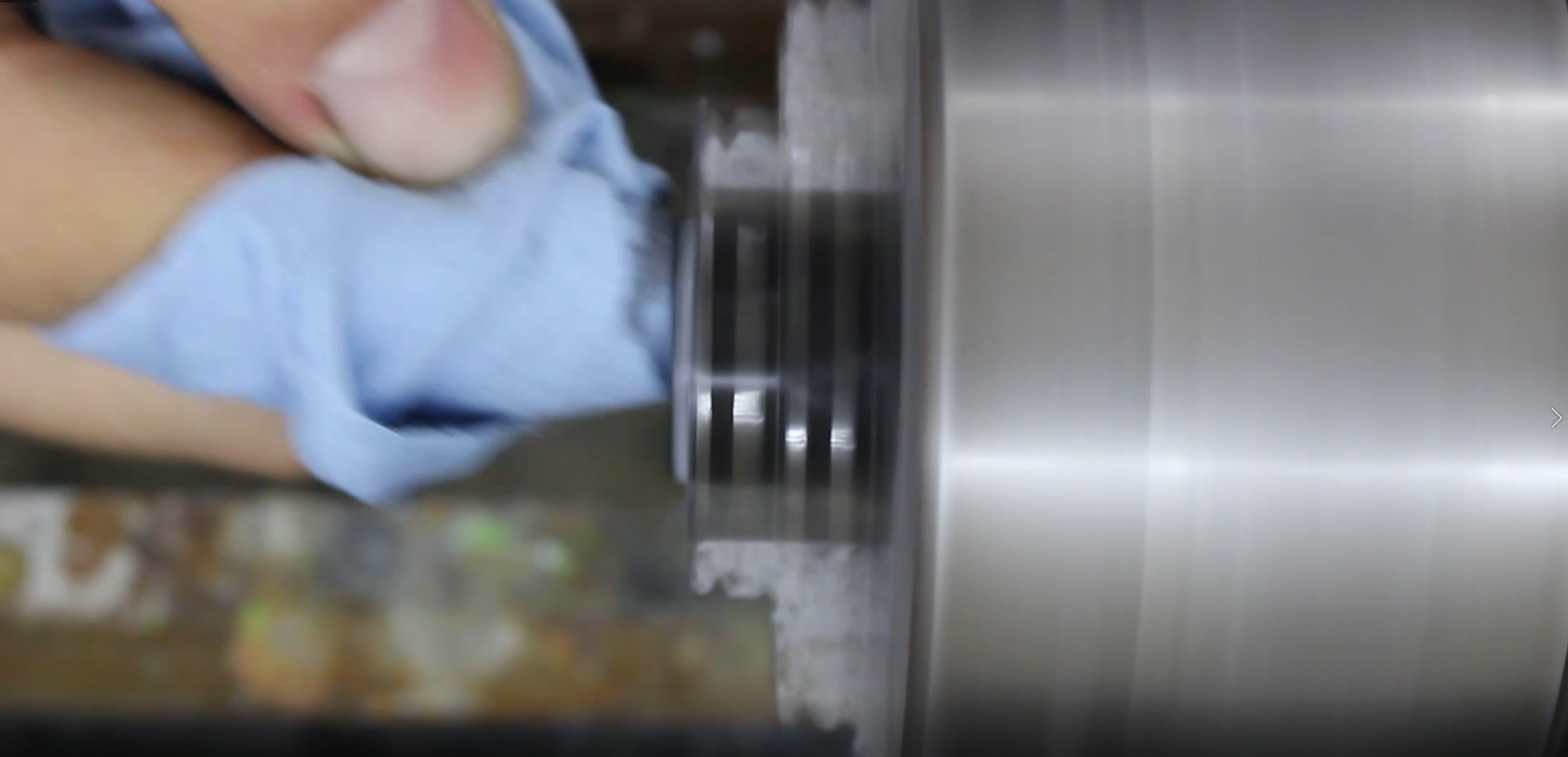 Picture of Polishing the Inside of the Ring