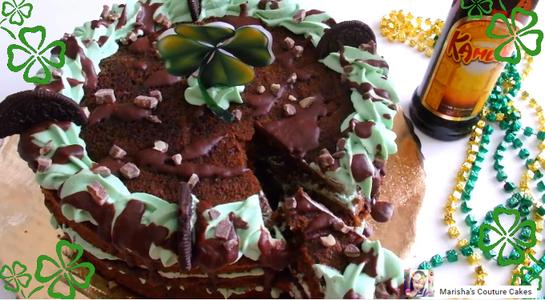 Kahlua Mudslide Cake