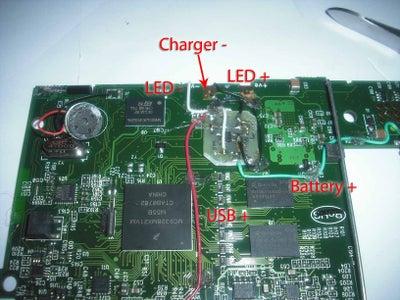LED Charging Indicator (optional)