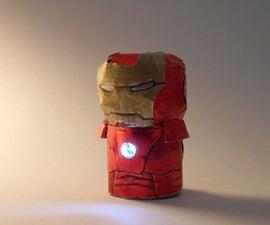 Champagne Cork Iron Man
