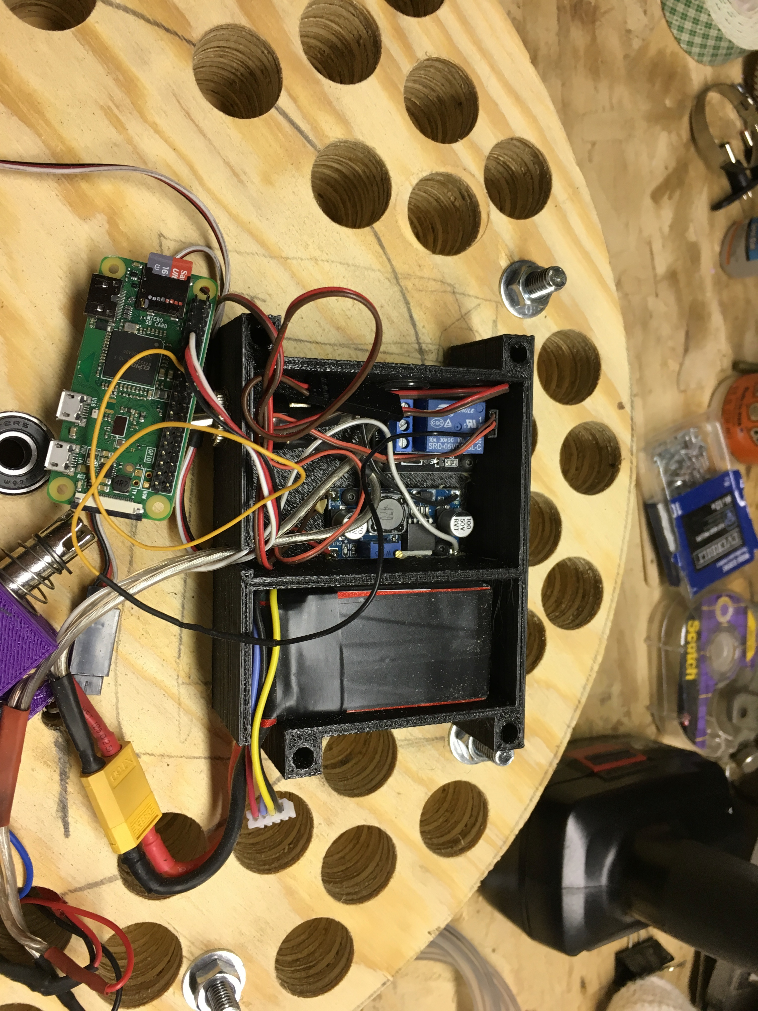 Picture of Wiring Up the Parts