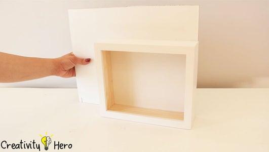 Make a Back for the Light Box.