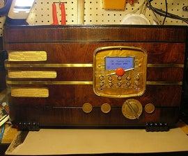 Vintage Wi-Fi Internet Radio